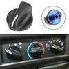 3PCS Heater A/C Blower Fan Speed Control Knob For  Wrangler 99-06 Ram Van 1500 2500 3500 98-03 Black