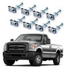 Bed Mounting Hardware Kit For Ford F250 F350 F450 F550 Super Duty 99-14 Silver