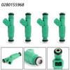 4PCS Fuel Injectors For BMW 318i 92-98 318is 92-96 318ti 95-99 M3 88-91 Z3 96-98 Green