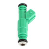 6 Fuel Injectors For BMW 318i 92-98 318is 92-96 318ti 95-99 M3 88-91 Z3 96-98 Green