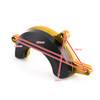 Right Engine Stator Slider Crash Pad Protector for Honda CB650R 19-21 CB650F 14-21 Gold
