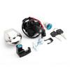 Ignition Switch Fuel Gas Cap Seat Lock Set Keys For Honda CB750 Nighthawk 91-03