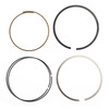 Piston Rings Pin Clips Kit STD 73mm Bore for Yamaha TT250R RAID 94-96 TT-R 95-04 TT-R250 99-06
