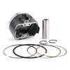 Piston Pin Ringw Kit Bore Size 73.50mm for Suzuki DR250 90-91 DR250R 98-00 DR250S 90-94 DR250SE 95 DRZ250 01-07 AN250 Burgman 250 98-06
