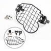 Stainless Steel Headlight Guard Grill Protector for BMW G650GS Sertao 2011-2017 Black