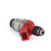 4PCS Fuel Injectors 16600-86G00 16600-86G10 For Nissan D21 90-94 Pickup 95 Red