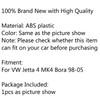 Console Dashboard Central Air Conditioner Vent Fit For VW Jetta 4 MK4 Bora 98-05 Black
