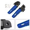 Front Footpegs Fit For HONDA CB125R 250R 300R 18-19 CB1100/RS/SX CBR400R 13-19 CB600F 98-13 VFR1200F 10-19 MSX125/GROM125 14-19 Blue