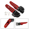 Front Footpegs Fit For HONDA CB125R 250R 300R 18-19 CB1100/RS/SX CBR400R 13-19 CB600F 98-13 VFR1200F 10-19 MSX125/GROM125 14-19 Red