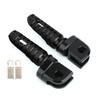 Front Footpegs Fit For KAWASAKI Z650 Z900 17-20 ER-6N 6F 09-16 ZX-10R 08-10 NINJA 650 250/R 1000/Z1000SX 12-20 Black