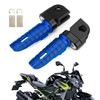 Front Footpegs Fit For KAWASAKI Z650 Z900 17-20 ER-6N 6F 09-16 ZX-10R 08-10 NINJA 650 250/R 1000/Z1000SX 12-20 Blue