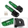 Front Footpegs Fit For KAWASAKI Z650 Z900 17-20 ER-6N 6F 09-16 ZX-10R 08-10 NINJA 650 250/R 1000/Z1000SX 12-20 Green