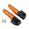 Front Footpegs Fit For KAWASAKI Z650 Z900 17-20 ER-6N 6F 09-16 ZX-10R 08-10 NINJA 650 250/R 1000/Z1000SX 12-20 Orange