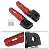 Front Footpegs Fit For KAWASAKI Z650 Z900 17-20 ER-6N 6F 09-16 ZX-10R 08-10 NINJA 650 250/R 1000/Z1000SX 12-20 Red