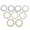 Clutch Plate Kit Fit For Honda CBR125R 04-06 CBR125RS 05-06 CBR125 04-09 TA200 (TA Shadow) 02-05