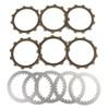 Clutch Plate Kit Fit For Yamaha SR250G SR250 TT250G XT250G XT250 80 SR250H SR250 T250H XT250H XT250 81
