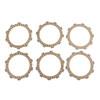 Clutch Plate Kit Fit For Yamaha IT200 Competition 86 XT225 Serow 01-07 XT225WE Serow 02-03 IT175 Racer 80-83 MX125C 76