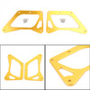 LED Motorcycle Headlight Fog Light Aluminum Fit For Honda MSX125 Grom 13-15 MSX125SF Grom 16-19 Gold