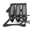 LED Motorcycle Headlight Fog Light Aluminum Fit For Honda MSX125 Grom 13-15 MSX125SF Grom 16-19 White Light+Black Bracket