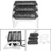 LED Motorcycle Headlight Fog Light Aluminum Fit For Honda MSX125 Grom 13-15 MSX125SF Grom 16-19 White Light+Silver Bracket