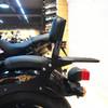 Passenger Sissy Bar Backrest Luggage Rack Fit For Honda REBEL CMX300 CMX500 17-20 Black