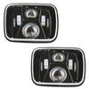 250W 5x7 Inch Led Headlights 7x6 Sealed Beam Headlamp with High Low Beam Kit