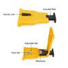 "16-20"" Chainsaw Teeth Sharpener Saw Chain Blade Fast Sharpening Stone System Yellow"