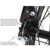 Adult 26 inch Folding Mountain Bike 21 Speed Bicycle Full suspension MTB Black+Red
