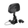 Driver Backrest Fit for CVO Limited FLHTKSE 14-19 Black