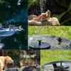 7V 3.5W Electric Solar Powered Fountain Water Pump Night Floating Garden Bird Bath Kit