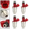 4Pcs Fuel Injector Fit For Suzuki Aerio 2.0L 02-03 Esteem 1.8L 99-02 Sidekick 1.8L 96-98