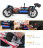 Wltoys A959 1/18 Scale 2.4G 4WD RTR Off-Road Buggy Electric RC Car Red