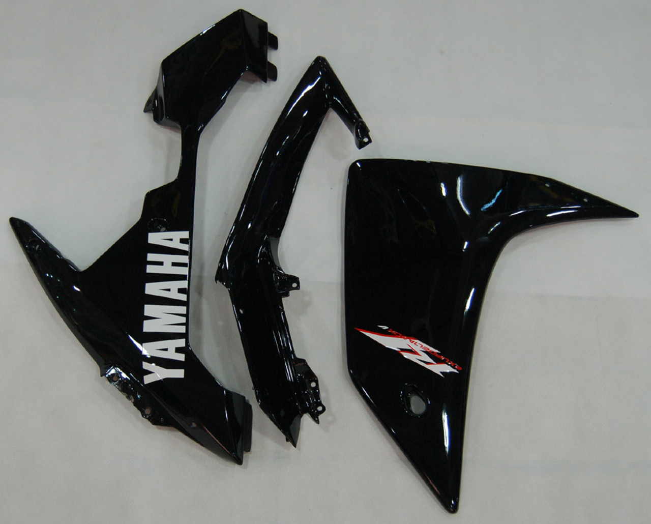 Fairings Yamaha YZF-R1 All Black R1 Racing (2007-2008)