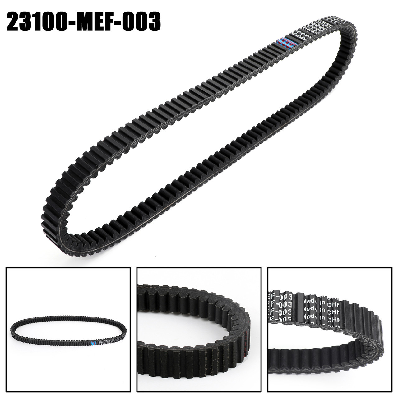 Scooter Drive Belt For Honda FJS400 Silver Wing 2006-2009 23100-MEF-003
