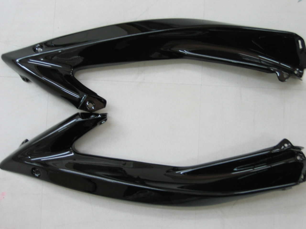 Fairings Yamaha YZF-R6 Black White R6 Racing (2006-2007)