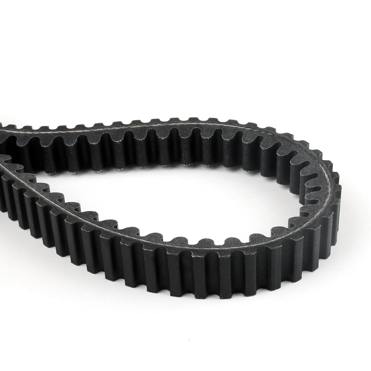 External Drive Belt V-belt Fit for Suzuki AN 400 Burgman Skywave 400 03-06 Black