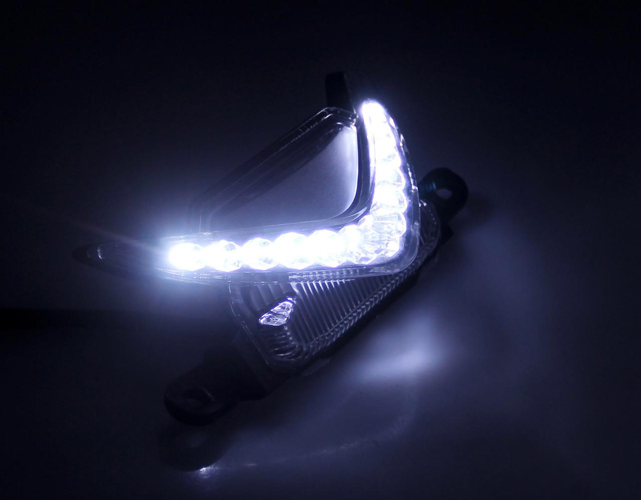 Running Light Upper Head Front Center Super Bright LED Honda CBR600RR (2007-2013)