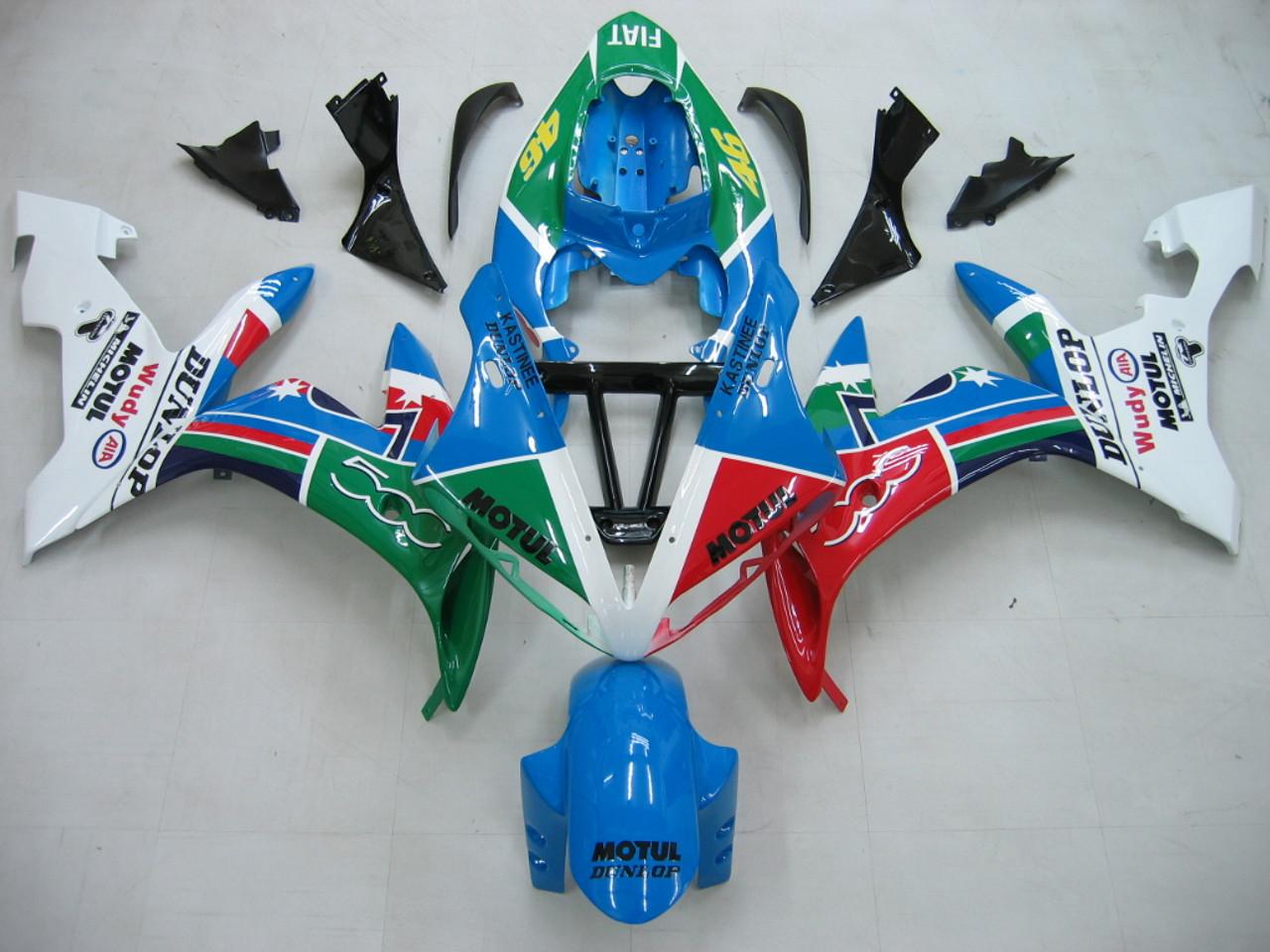 Fairings Yamaha YZF-R1 Multi-Color No.46  R1 Racing (2004-2006)