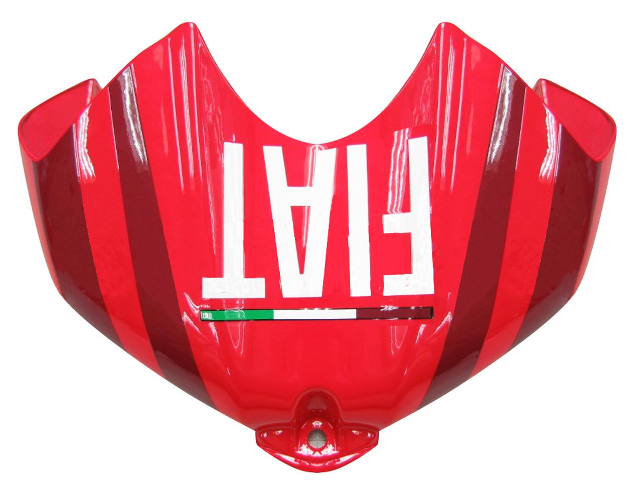 Fairings Yamaha YZF-R6 Red White Star FIAT R6 Racing (2006-2007)