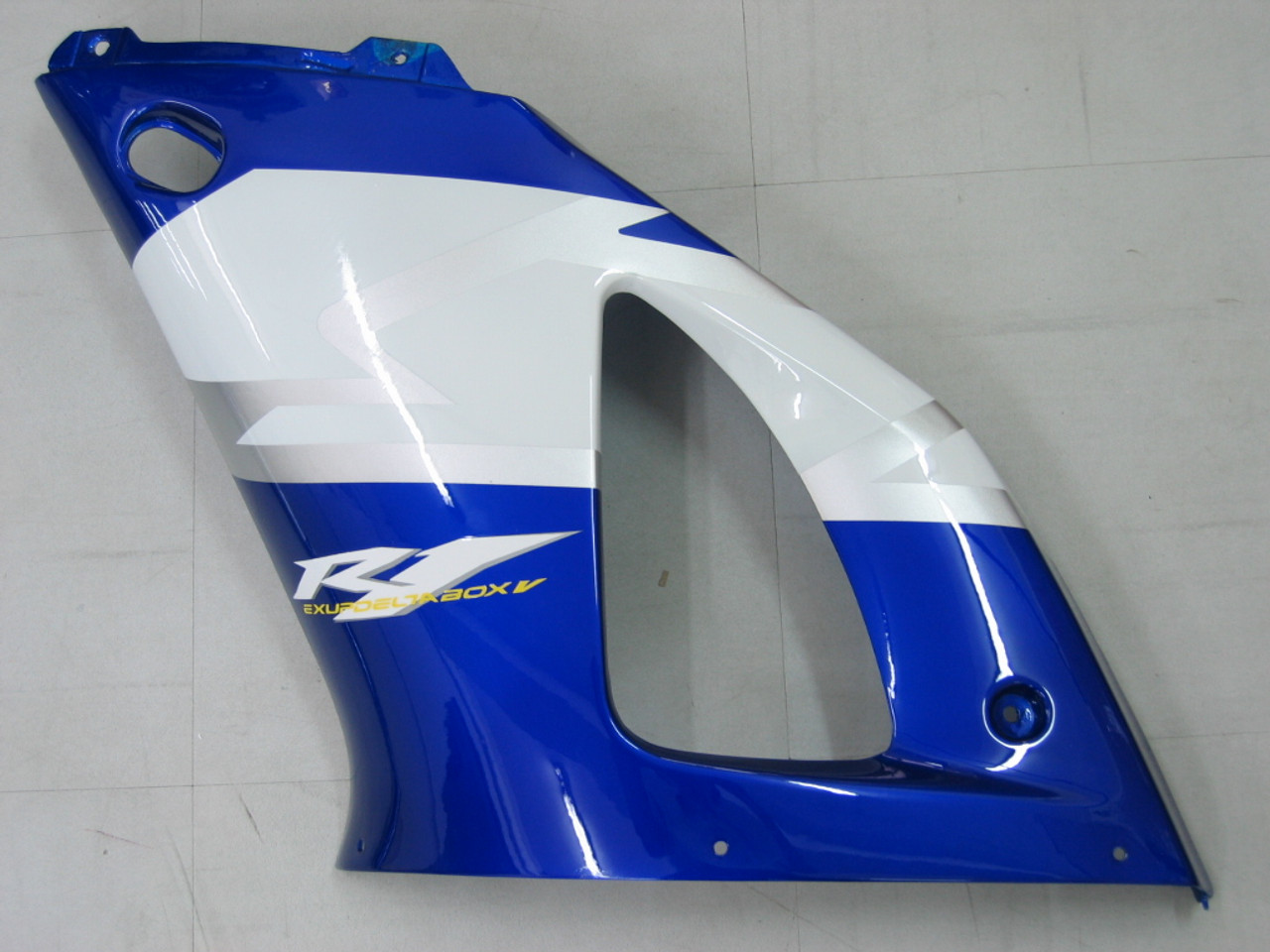 Fairings Yamaha YZF-R1 Blue White No.46 R1 Racing (2000-2001)