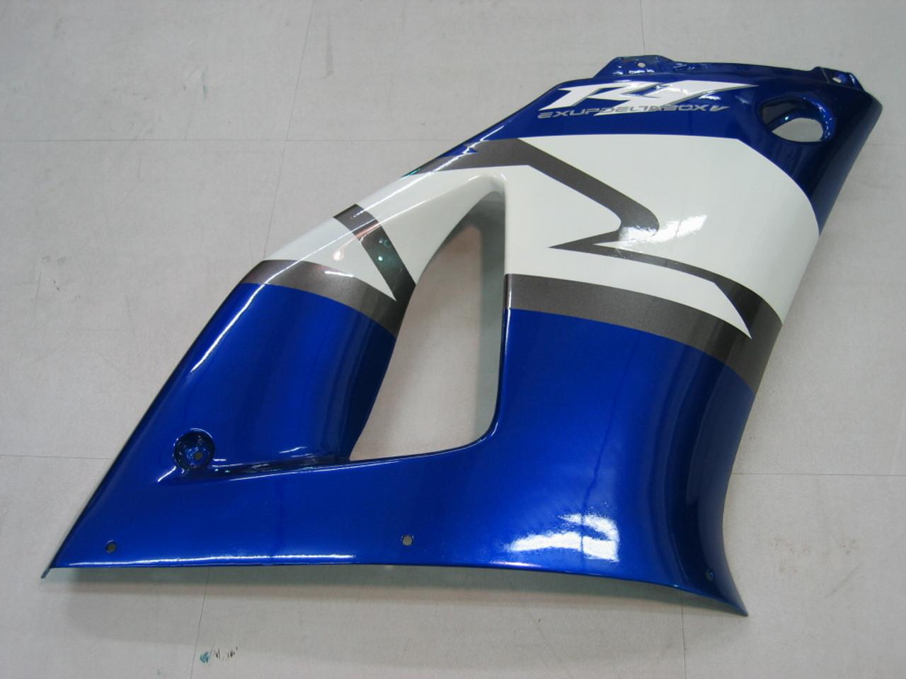 Fairings Yamaha YZF-R1 Blue Black R1  Racing (2000-2001)