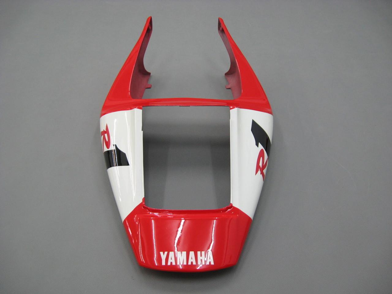 Fairings Yamaha YZF-R1 Red White Virgin  R1 Racing (1998-1999)