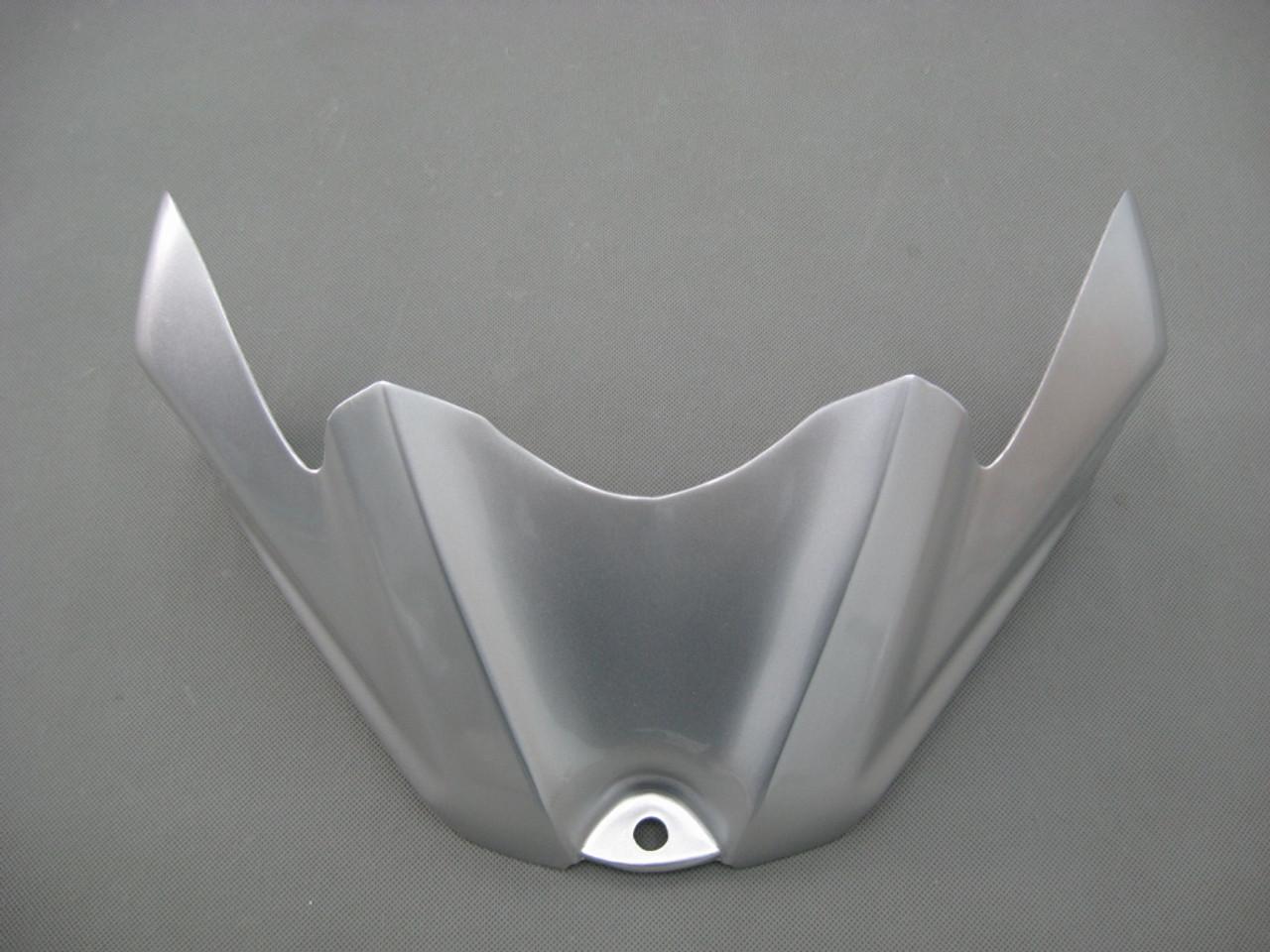 Fairings Suzuki GSXR 600 750 Silver White GSXR Racing  (2008-2009-2010)