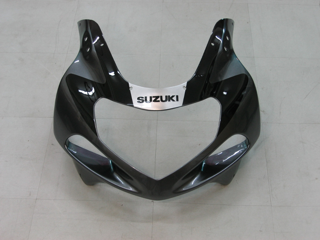 Fairings Suzuki GSXR 1000 Silver & Black Racing  (2000-2002)