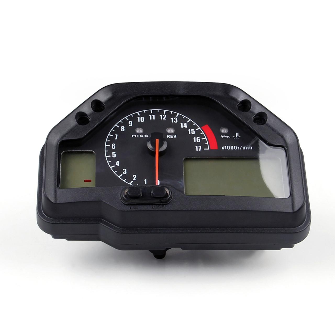 Speedometer Tachometer Gauges LCD Digital Odometer Honda CBR600RR (2003-2006)