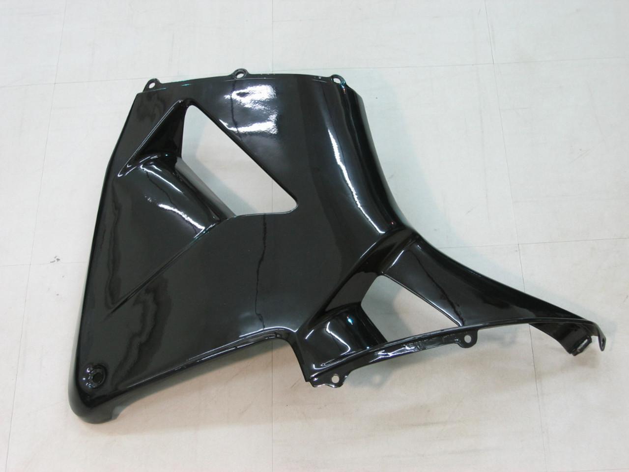 Fairings Honda CBR 600 RR Black & Silver Honda Racing (2003-2004)