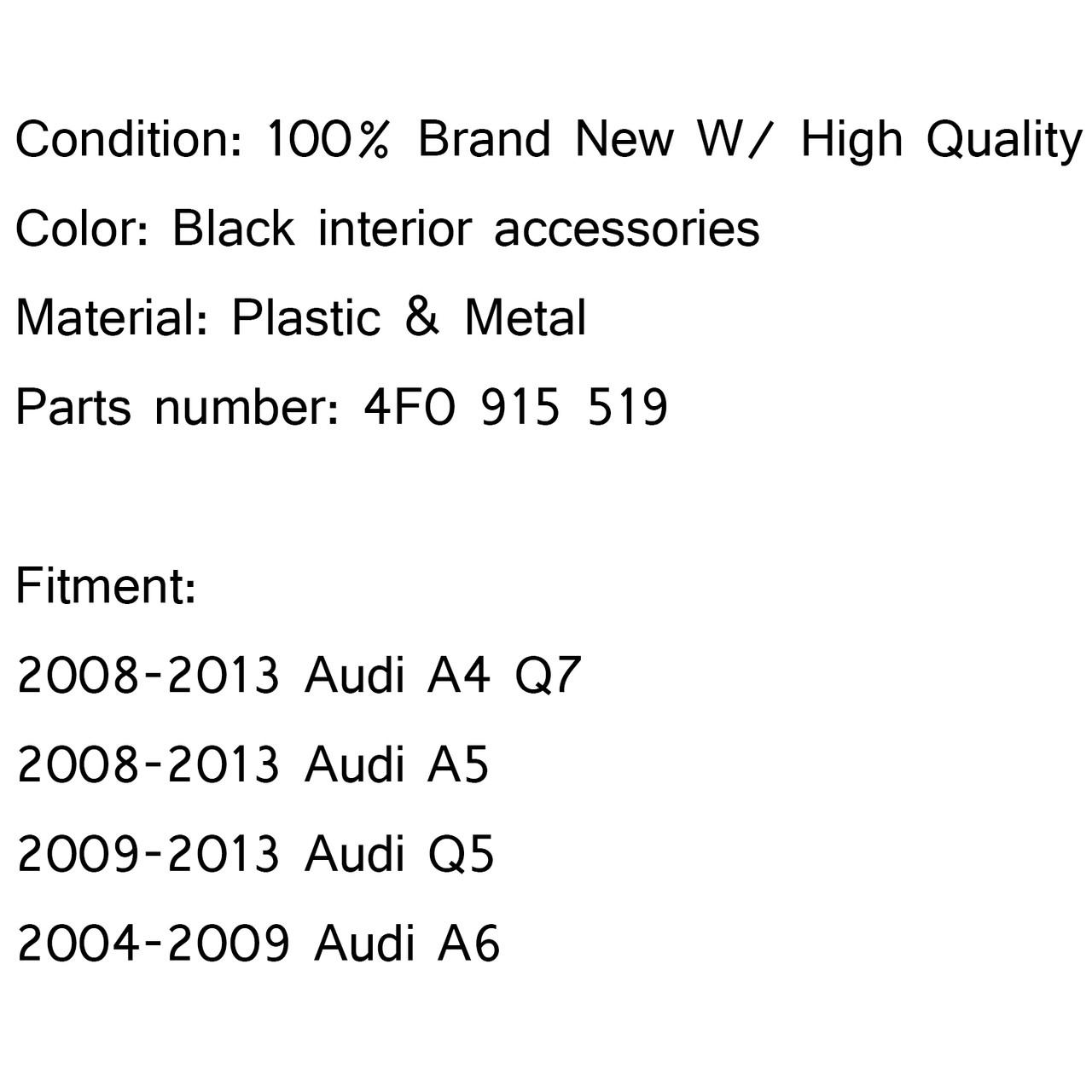 Battery Fuse Overload Protection Unit Trip 4F0915519 Audi A4 A5 A6 Q5 Q7