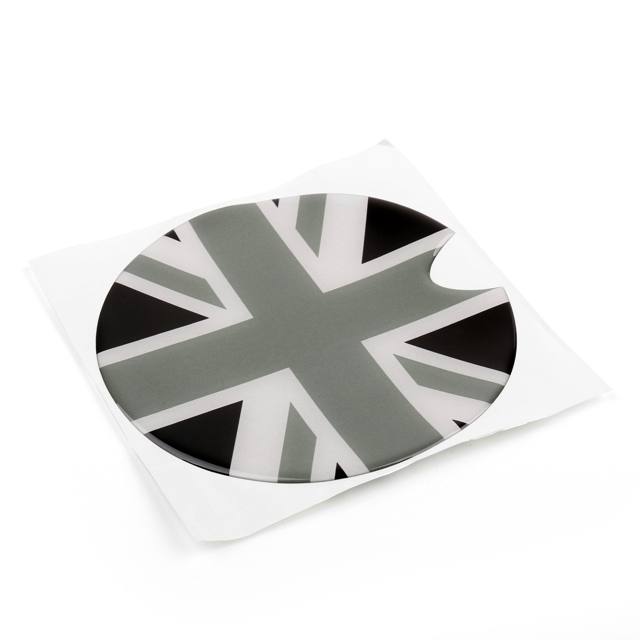 Union Jack UK Flag Pattern Vinyl Sticker Decal Mini Cooper Gas Cap Cover
