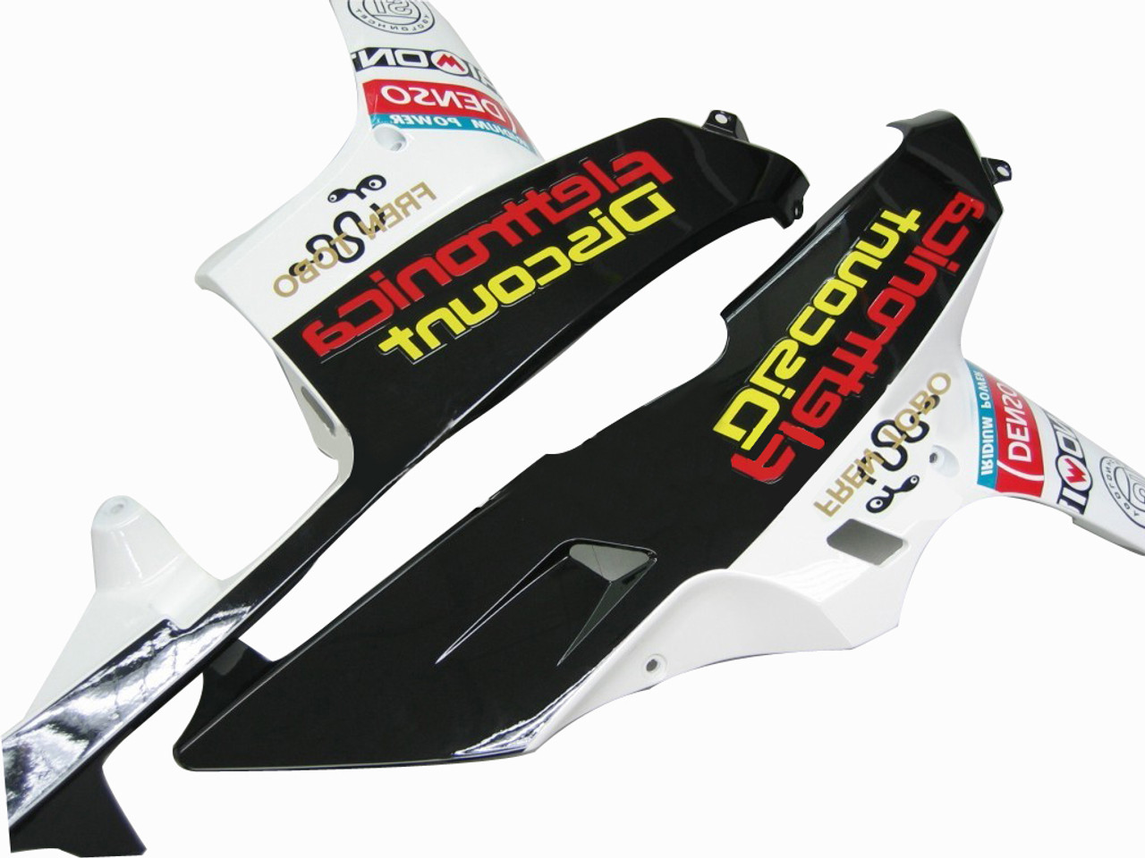 Fairings Honda CBR 600 RR Black Playboy Racing (2007-2008)