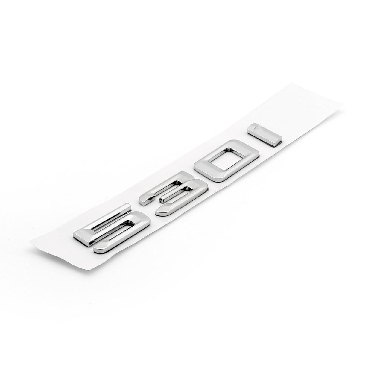 Car Rear Badge Emblem Metal 530i BMW 5 Series E60 E61 F10 F11 Chrome